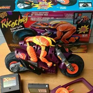 La moto de Ricochet Radio Control