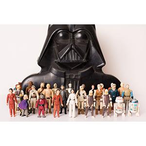 La edición especial de juguetes de Star Wars