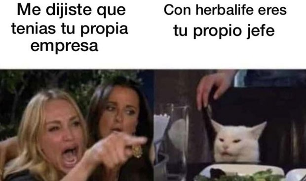 licuados herbalife meme