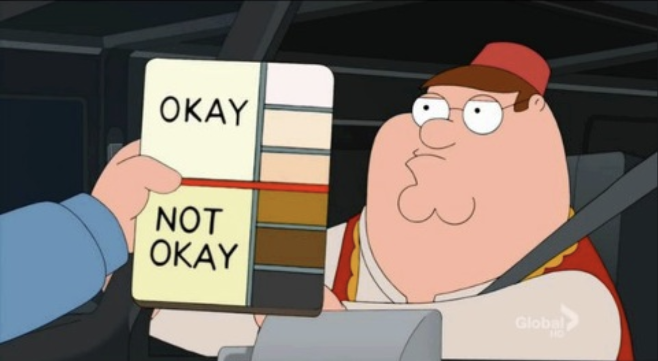 peter griffin police meme