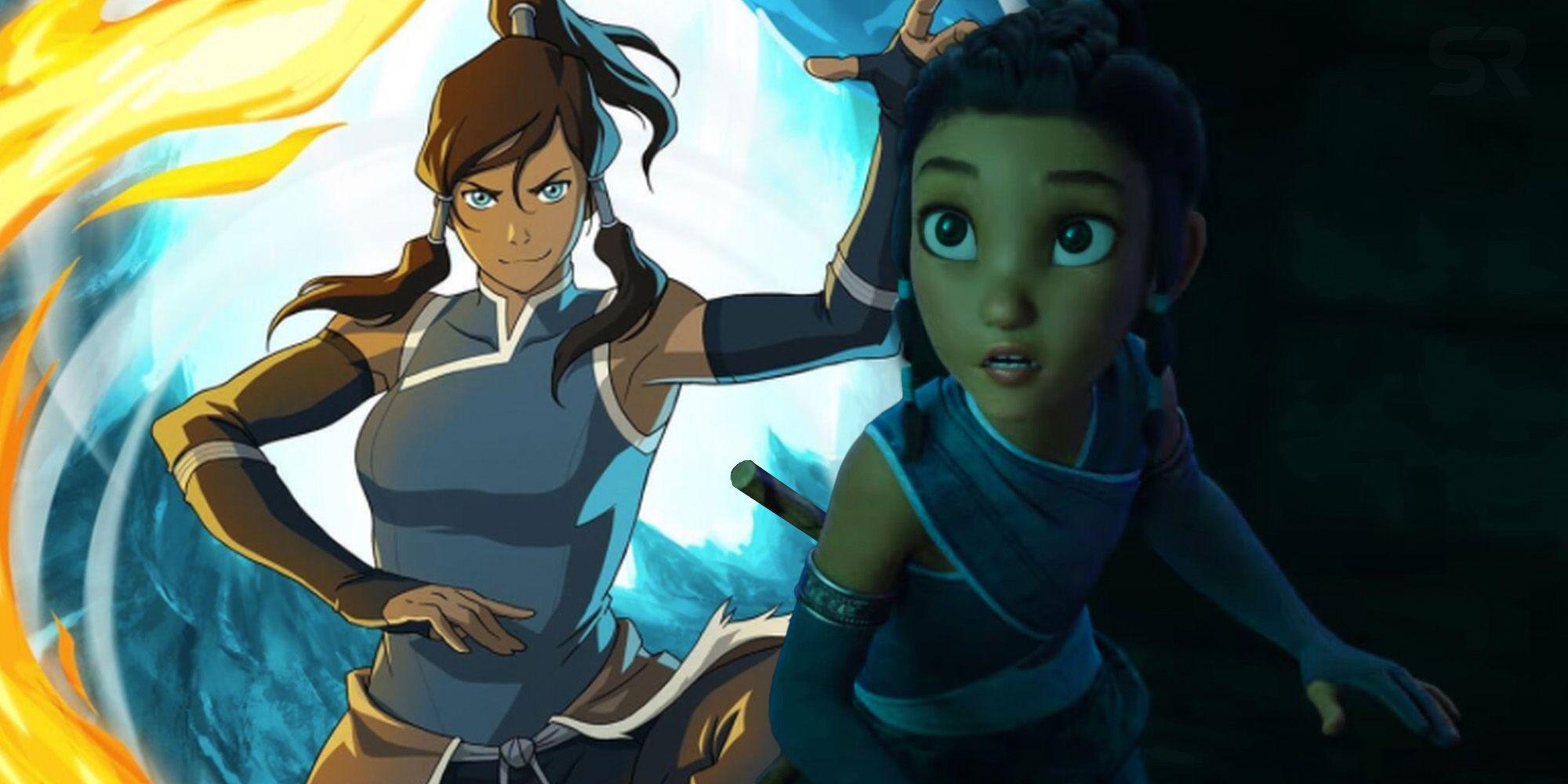 raya and the last dragon korra