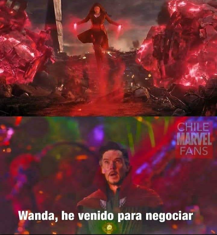 wandavision doctor strange meme