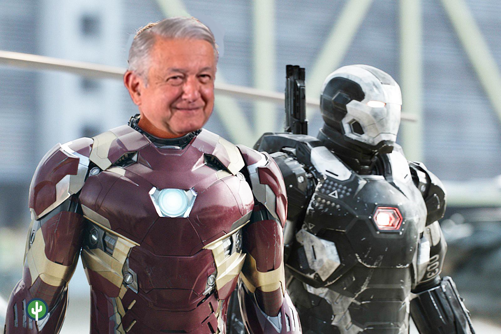 AMLO Iron Man Meme