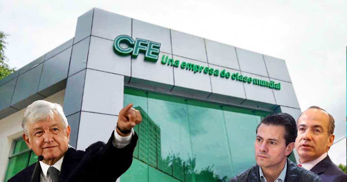 Cover CFE Sexenios PRIAN Apagones amlo