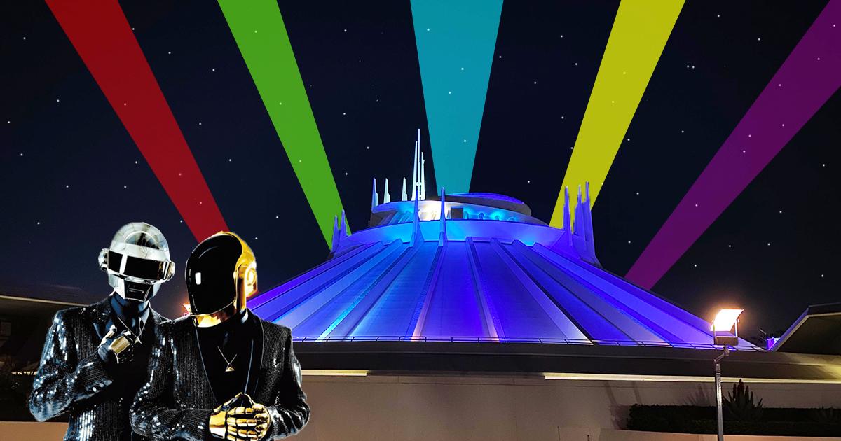 Cover Daft Punk Basílica Misa