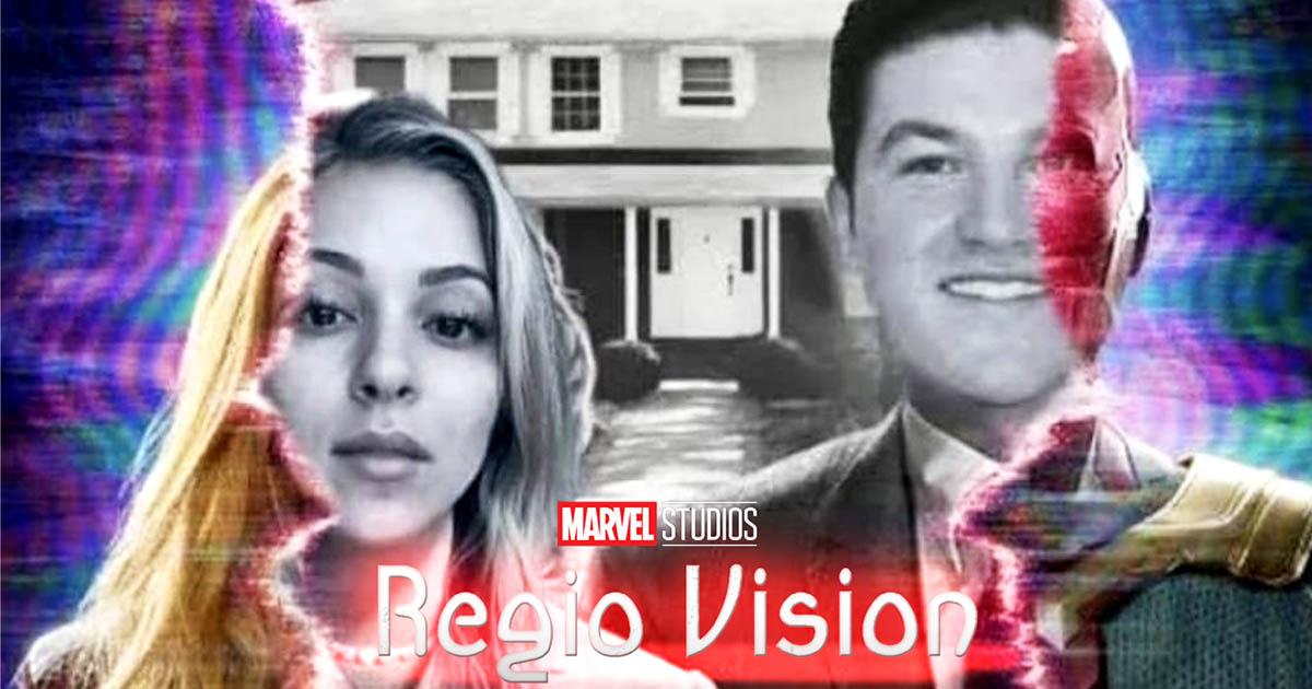 Cover Disney Wandavision Regivision Samuel García Mariana Rodriguez