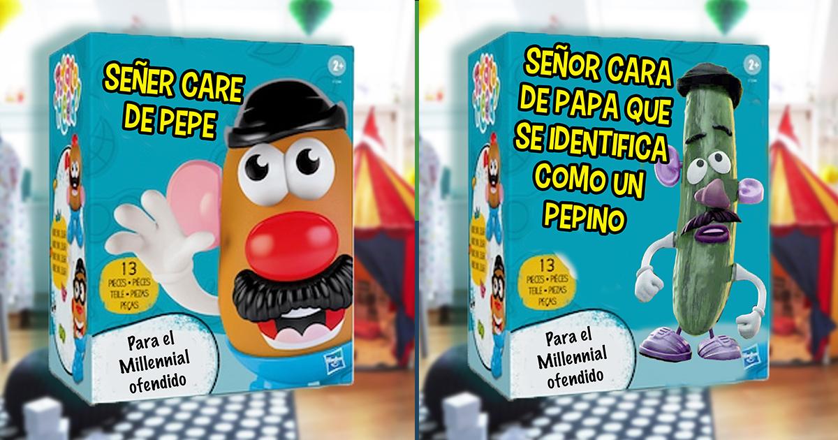 Cover Señor Cara de papa neutro nombres