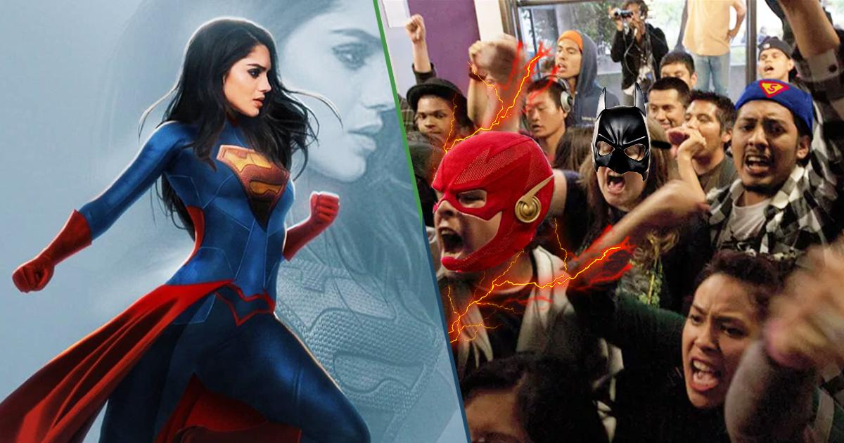 Cover Supergirl Sasha Calle Fans