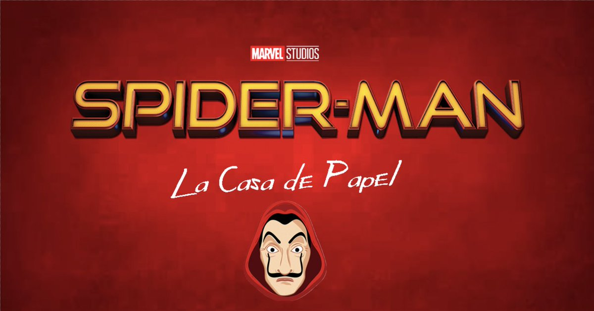 La Casa de Papel Spider-Man
