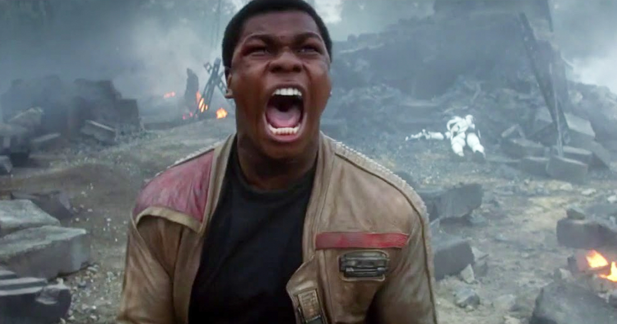 Finn Star Wars Scream //nota amber heard