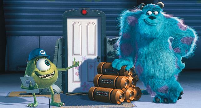 Monsters Inc //nota cfe