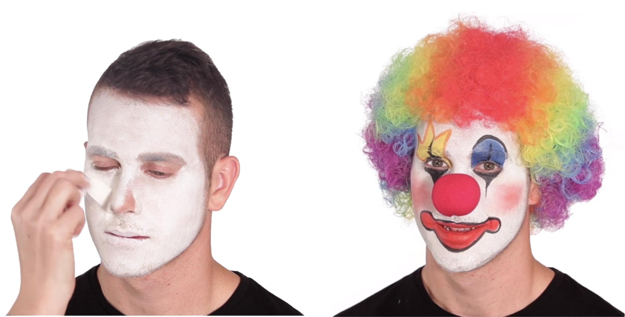 clown make up meme