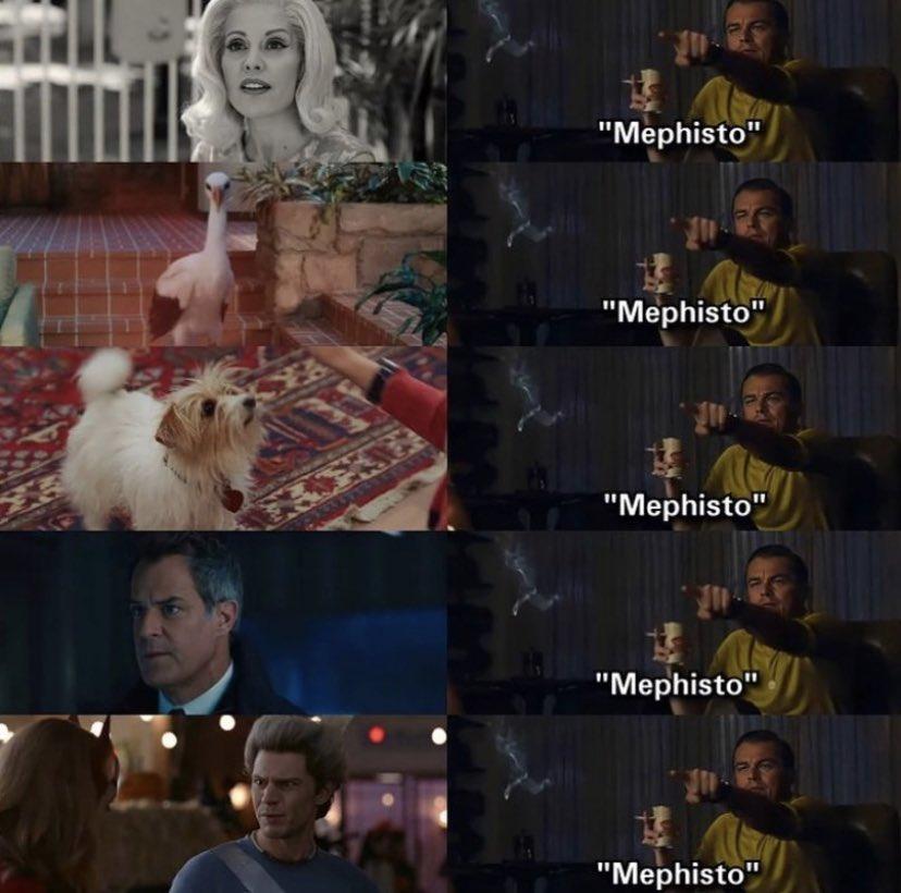 Resultado de imagem para meme wandavision mephisto