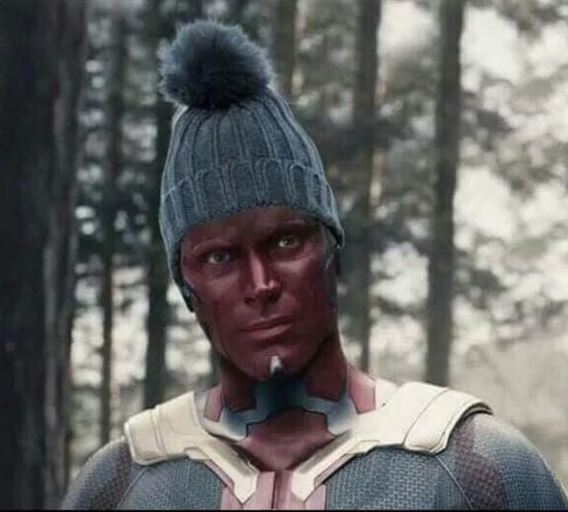 vision avengers ultron meme