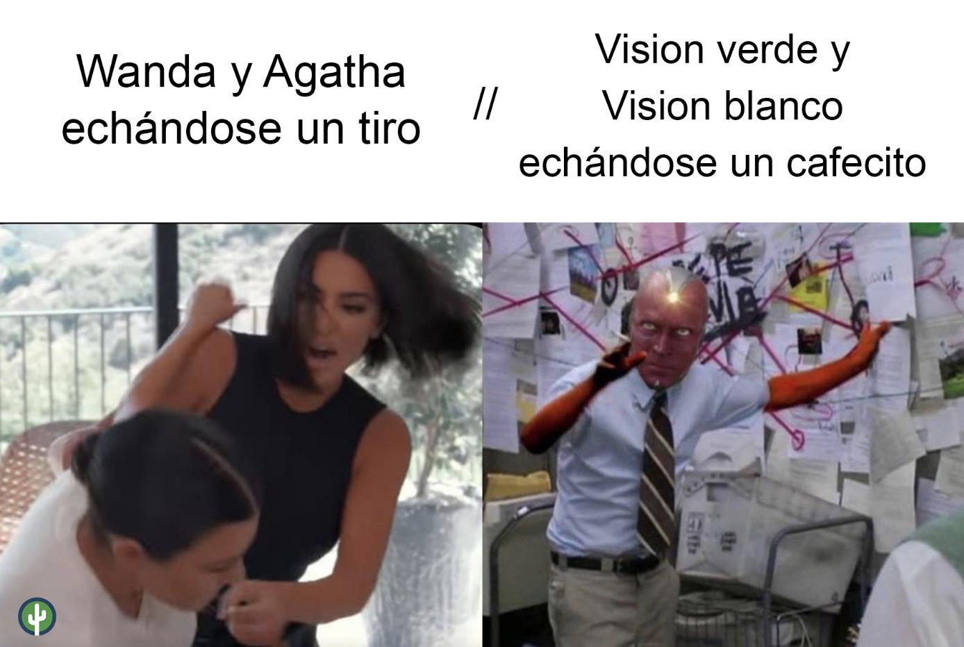 agatha wanda vision meme