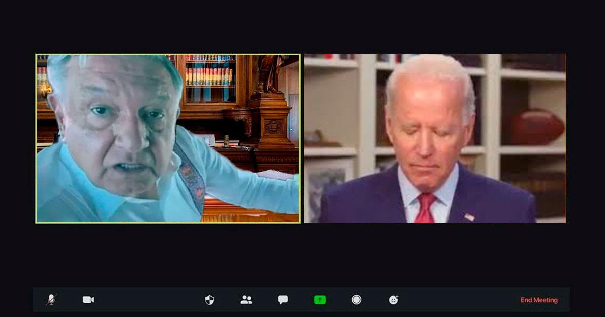 llamada AMLO Biden