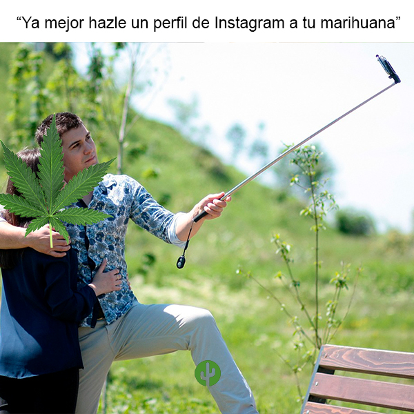 marihuana selfie