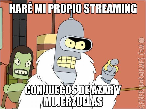 Bender streaming //nota televisa univision