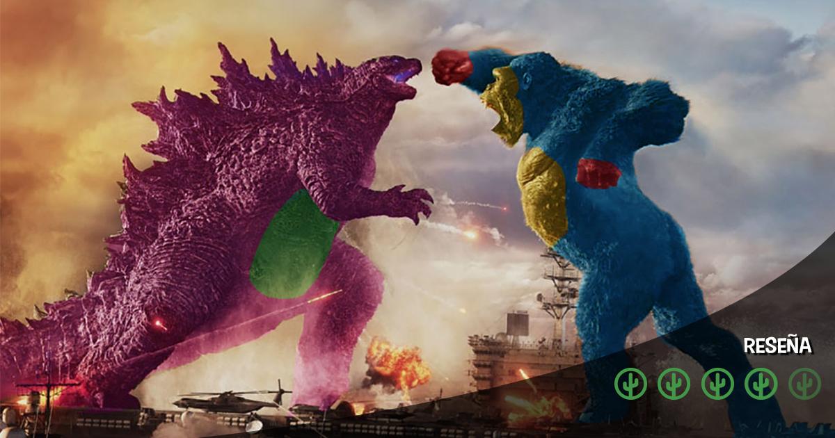 Cover Godzilla vs Kong Reseña