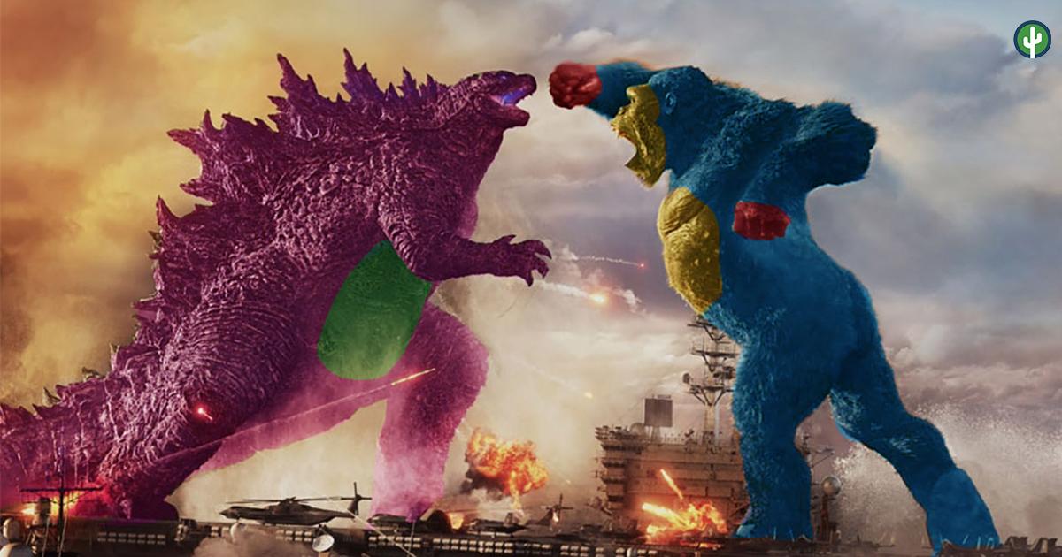Godzilla vs Kong Meme