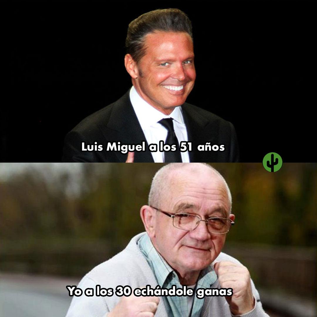 Luis miguel cumpleaños meme
