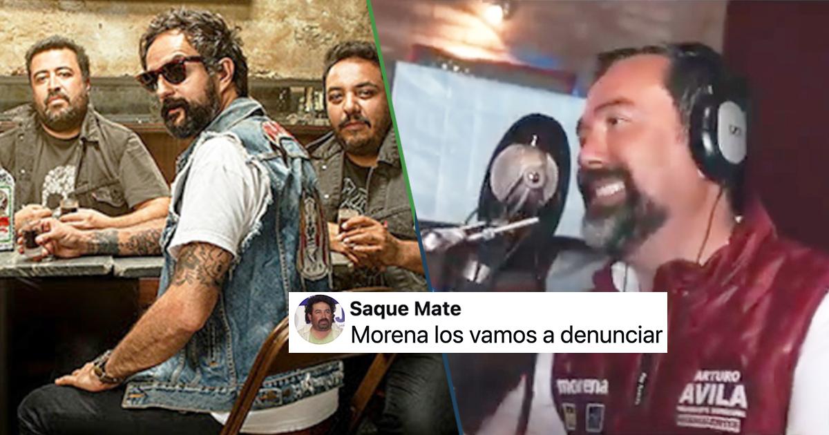 Cover Morena Cover Voto Latino Molotov