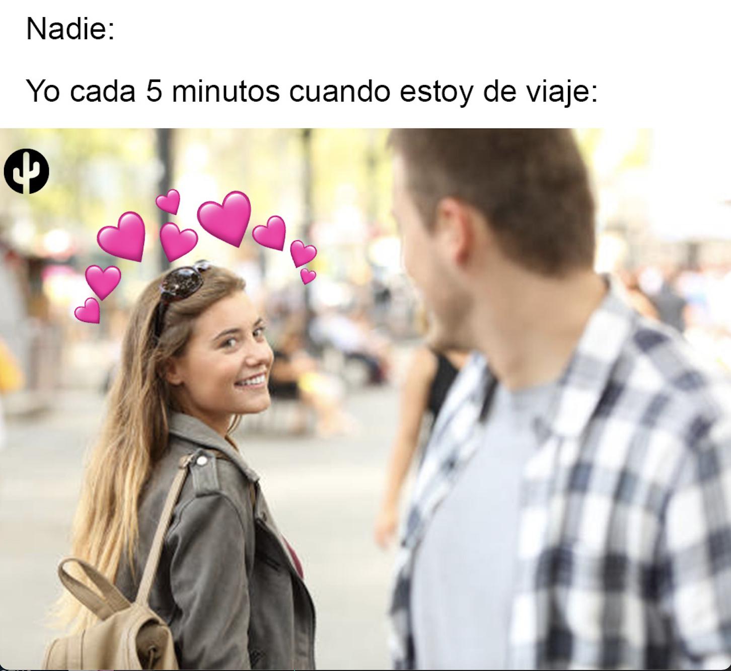 Meme viaje