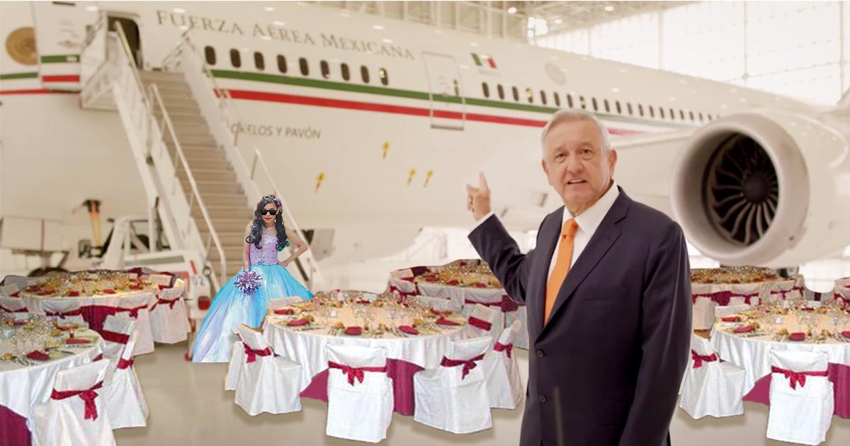 Cover AMLO Fiestas Avion Presidencial