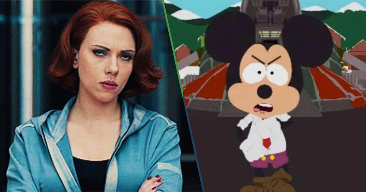 Cover Scarlett Johansson Disney Black Widow